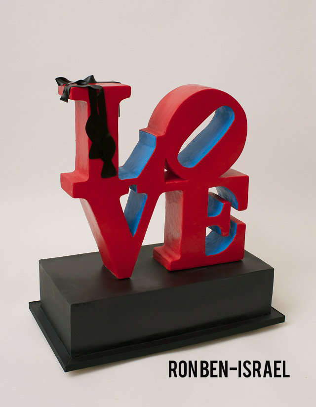 love cake by ron ben israel