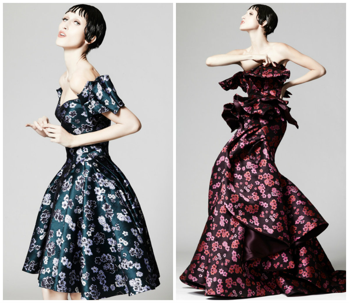 zac posen floral dresses mother of the bride