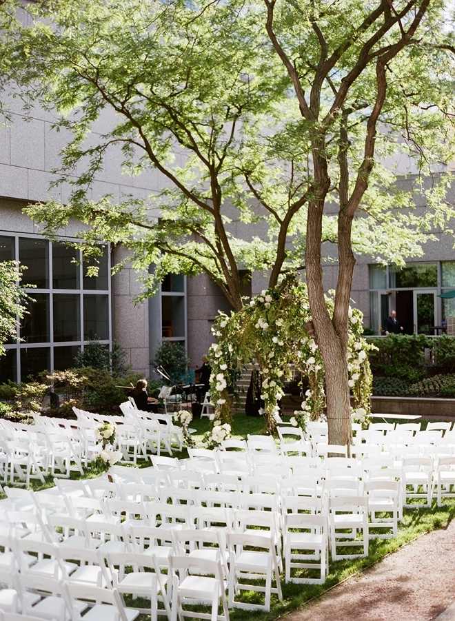 outdoor jewish ceremonies garden chuppahs evantine design philadelphia weddings