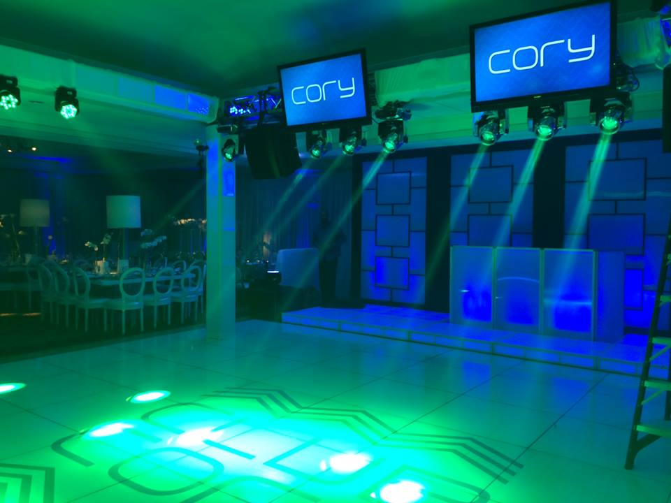 evantine lighting robert canada production manger party planner cory