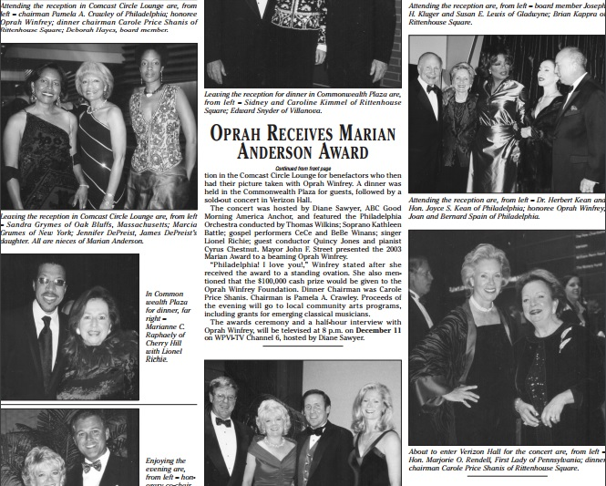 brian kappra designs marian anderson awards for oprah winfrey 3